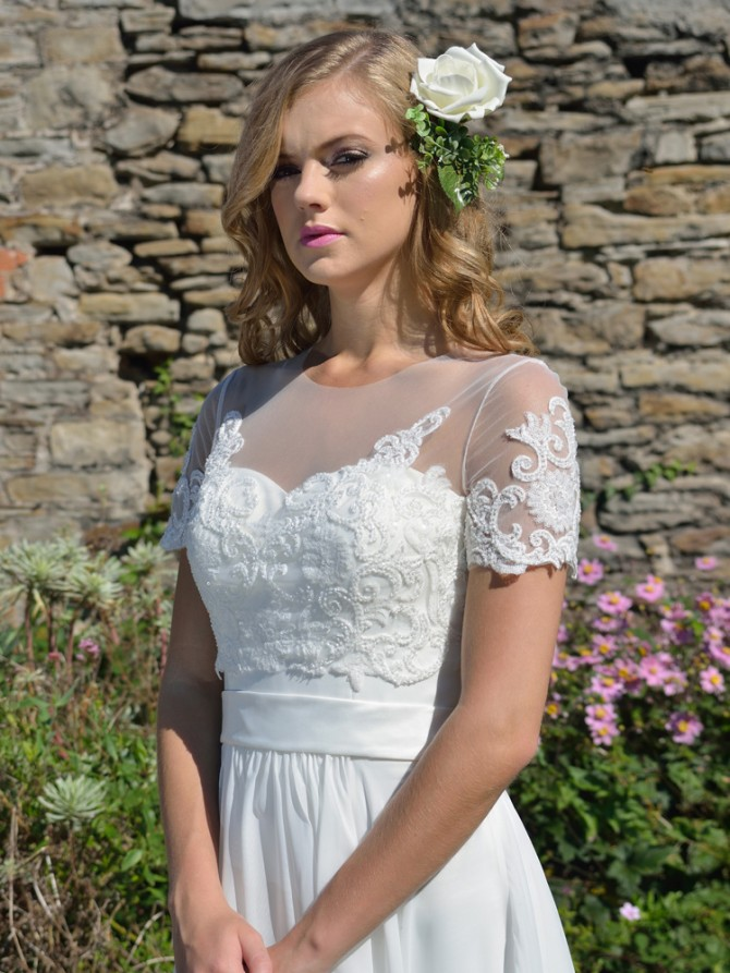 5 Short Sleeve Wedding Dresses From Catherine Parry Find Your