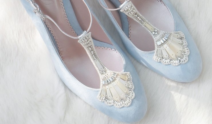 7 Something Blue Wedding Shoes Find Your Dream Dress