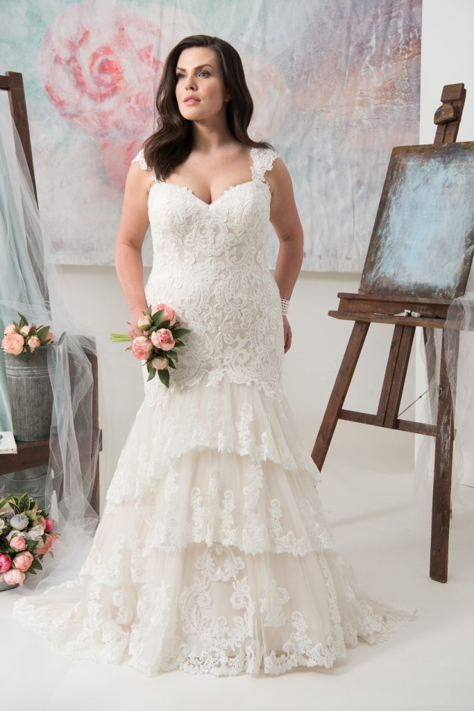 Plus Size Wedding Dresses Va : Carolina by callista find your dream dress