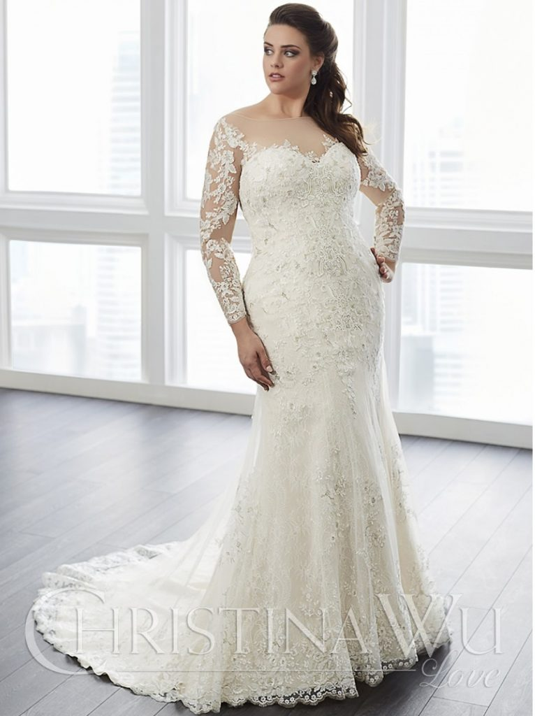 Wedding dresses for big busted brides wedding dresses in for Wedding dresses for big busted women
