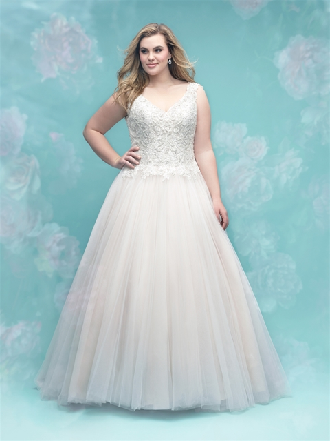 Brand new plus-size wedding dresses from Allure Women! - Find Your ...