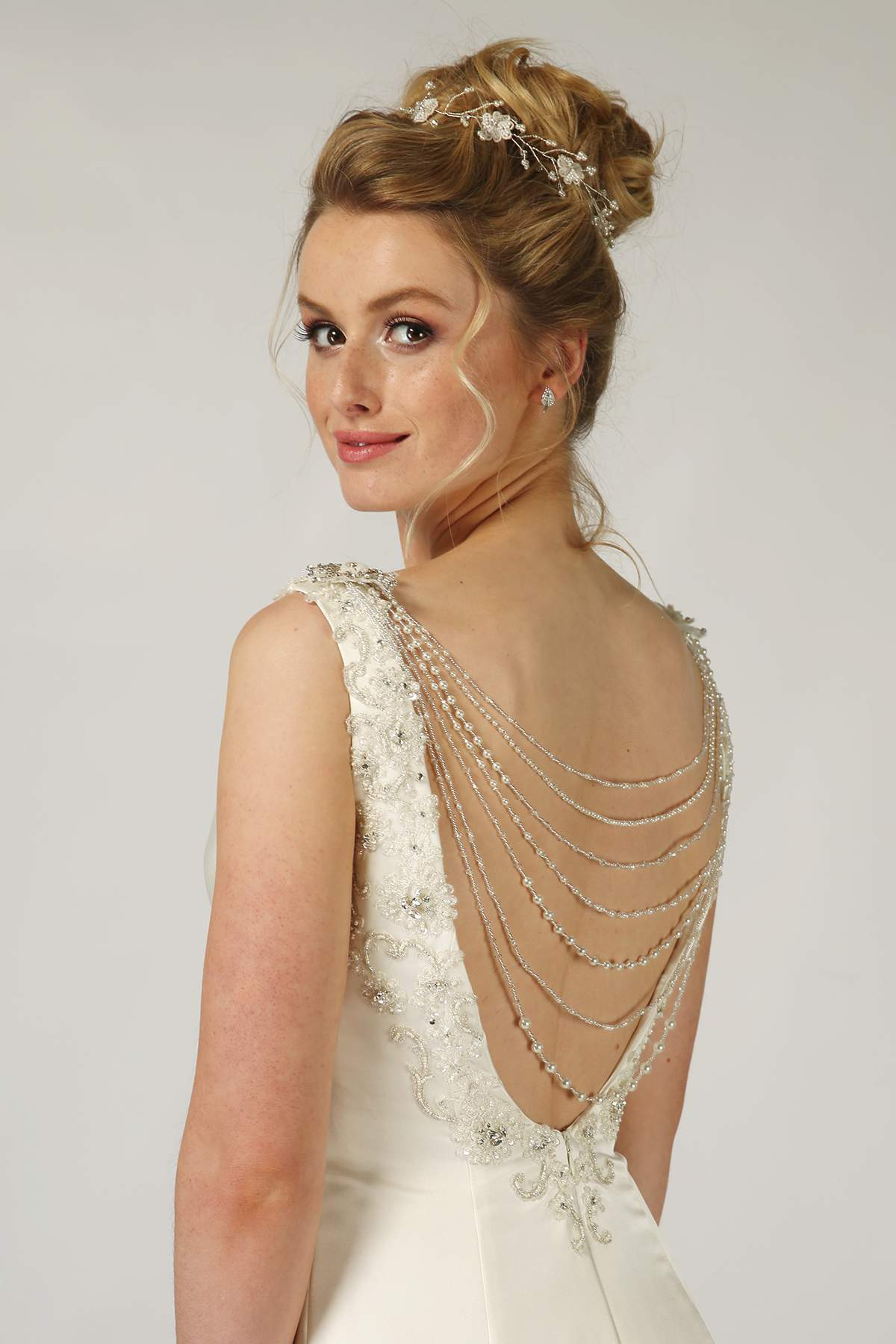 161b4c3411fc0 Pearl and Crystal Back Jewellery by Richard Designs - Find Your ...