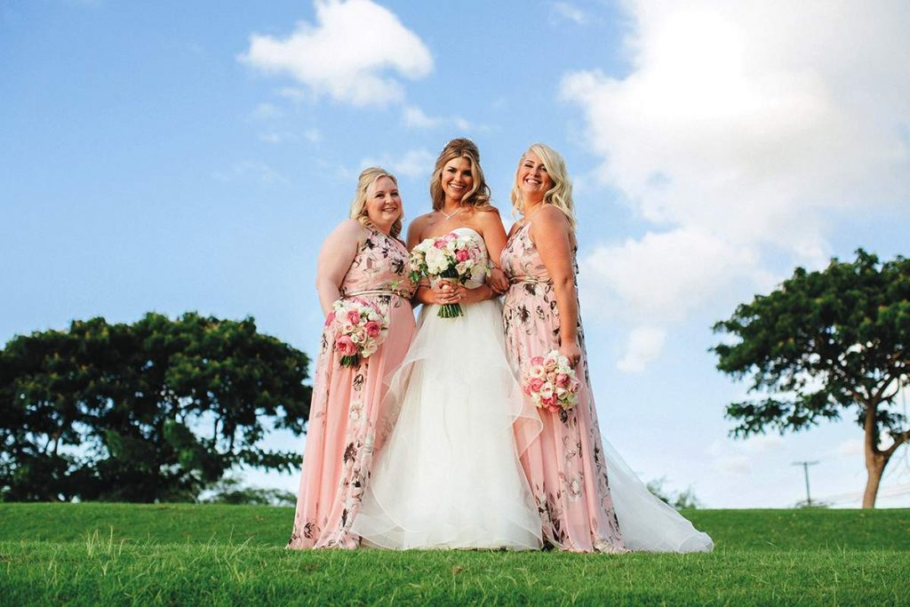 Bridesmaid dress ideas from real weddings find your for Cj evans home designs