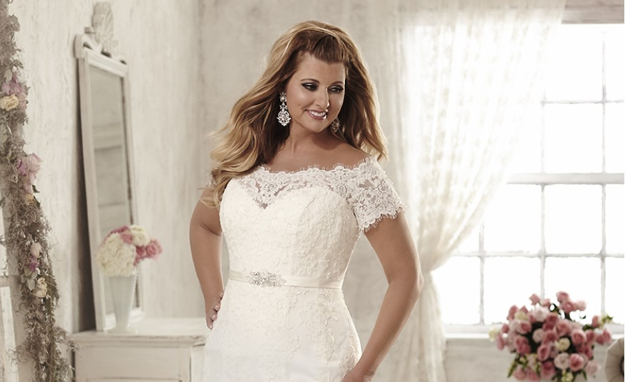 157d0ed02e4 Mermaid wedding dresses for curvy brides - Find Your Dream Dress