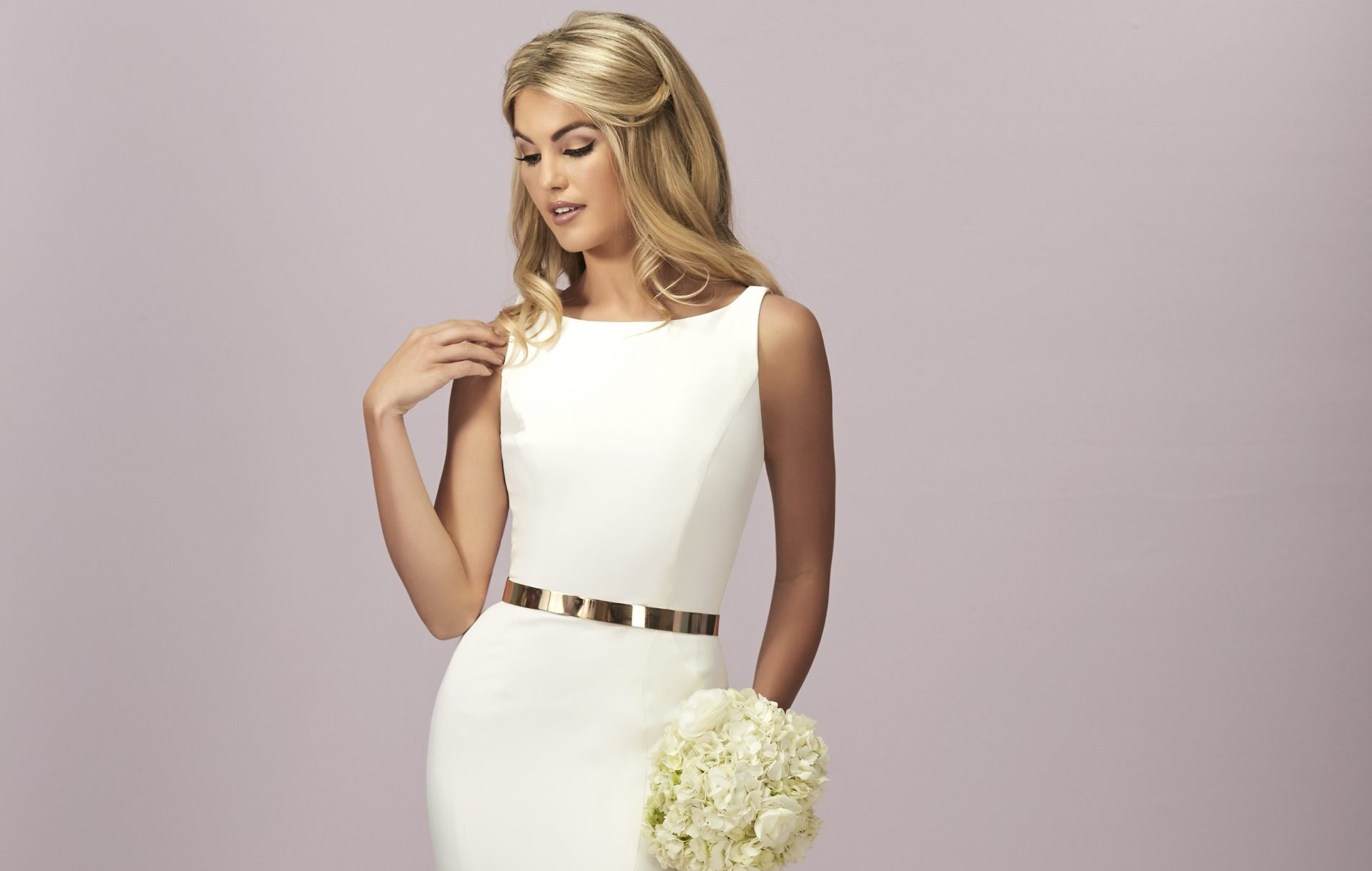 Sleek And Simple Wedding Dresses From Eternity Bride