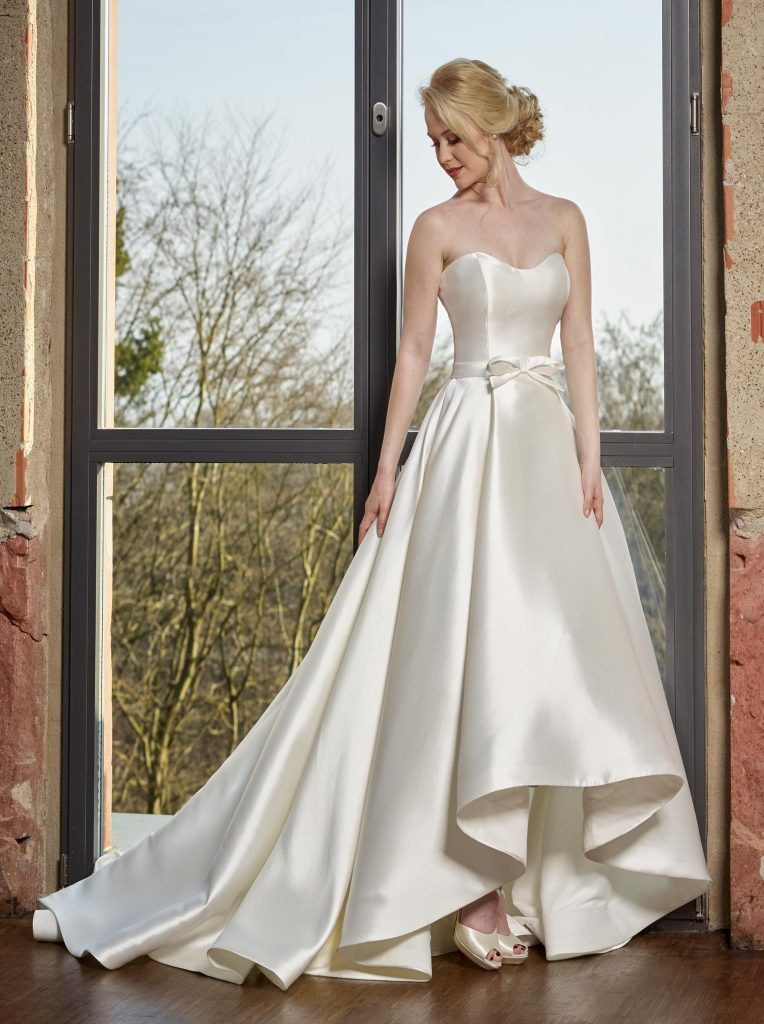Stunning satin wedding dresses from novabella find your Wedding dress dream meaning