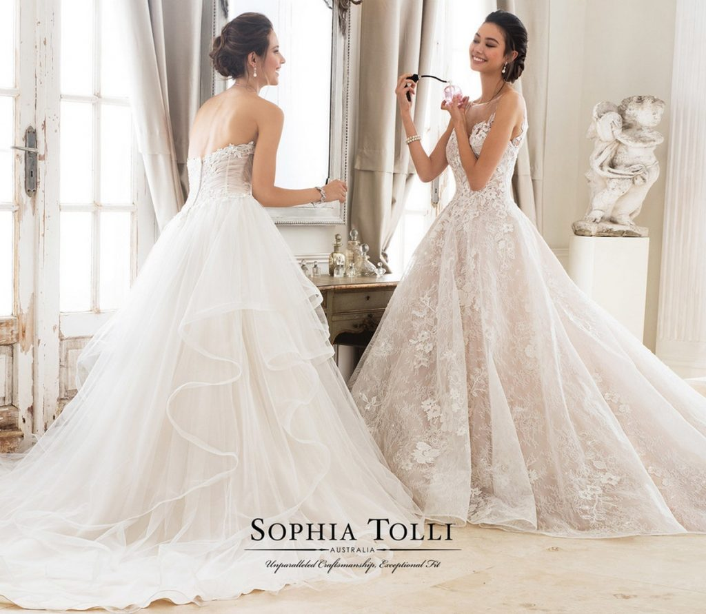 Sophia Bridal: Introducing The New Sophia Tolli Collection For Spring