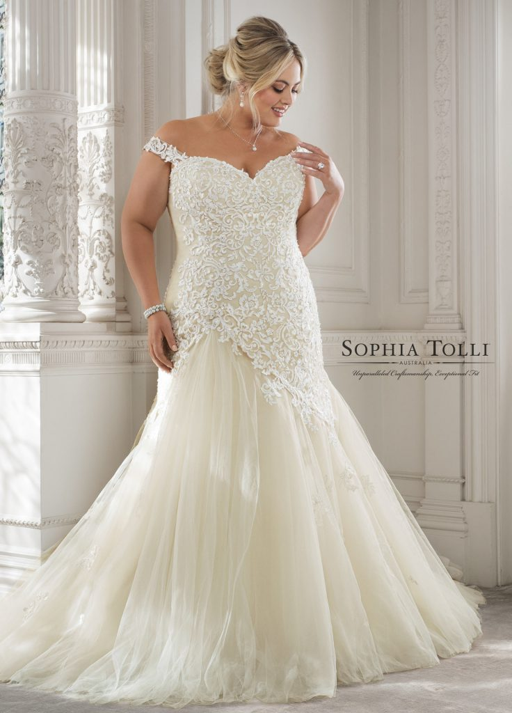 Plus size wedding dresses from Sophia Tolli! - Find Your Dream Dress