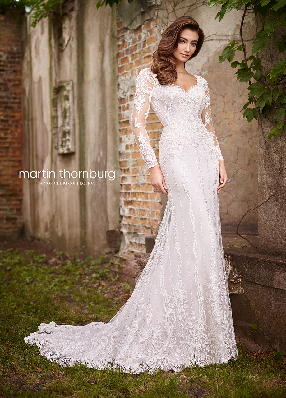 f1c4622500 Find your perfect bridal gown from Martin Thornburg A Mon Cheri Collection