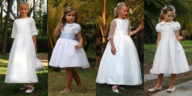 efc28dbf4509 Darling flower girl dresses from Little Eglantine - Find Your Dream Dress