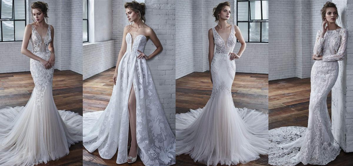 Contemporary Wedding Dresses From Badgley Mischka Find Your